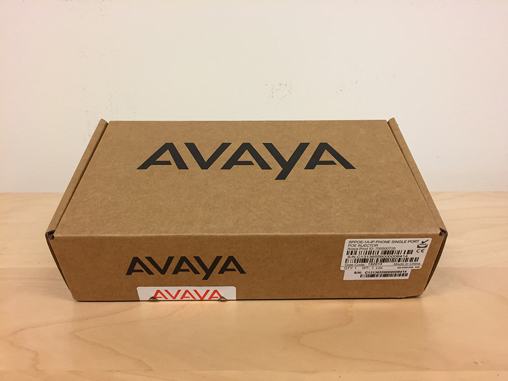 Avaya Single Port POE Injector SPPOE-1A