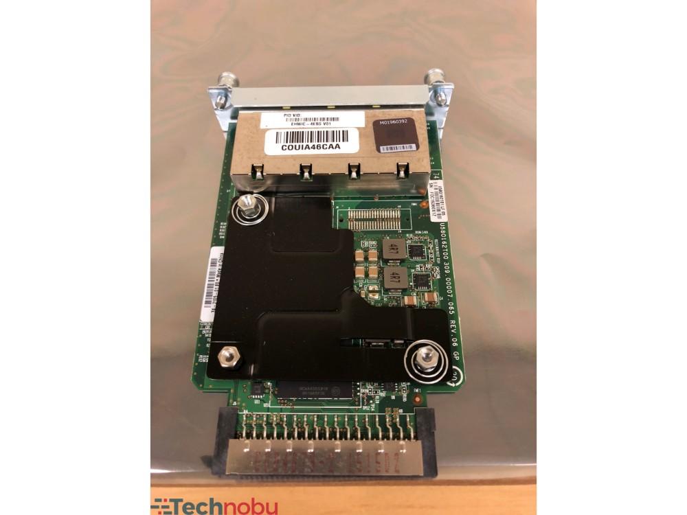 Cisco EHWIC-4ESG 4-Port Gigabit Ethernet Enhanced High Speed WAN Interface Card
